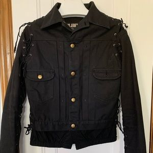 Authentic Jean-Paul Gauthier Laced Bomber Jacket